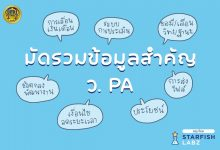 """สรุปมัดรวมข้อมูลสำคัญ ว.PA จาก Live หัวข้อ """"ร่วมเรียนรู้ พร้อมเข้าสู่ระบบ PA"""" ในภาคเช้า 5 กันยายน 2564 โดย"""